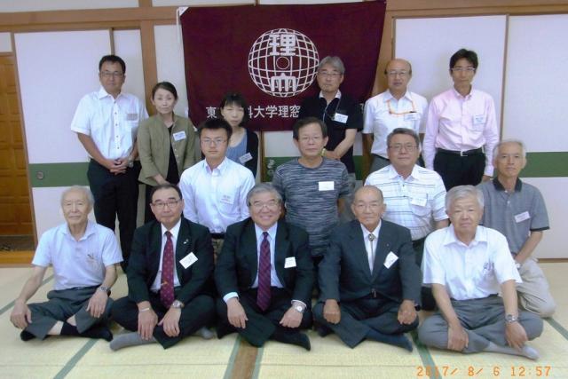 平成29年度 理窓会愛媛支部の総会が開催されました。