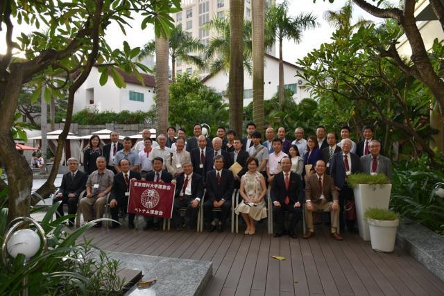 ベトナム理窓会設立総会及び懇親会が開催されました。