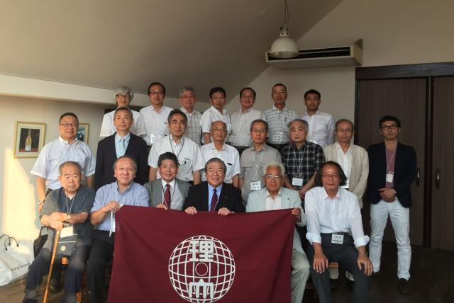 平成30年度 静岡県東部理窓会総会が開催されました。