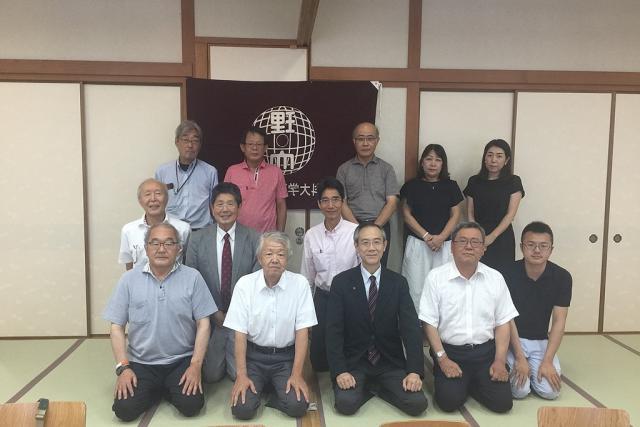 平成30年度 理窓会愛媛支部総会が開催されました。