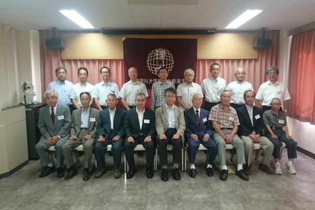 平成30年度 理窓会新潟支部総会が開催されました。